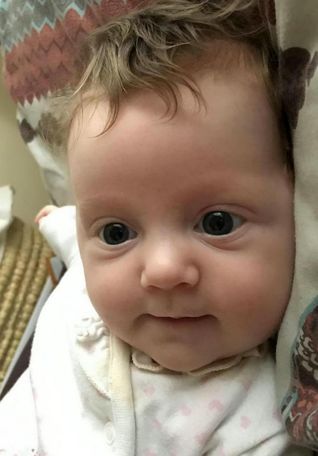 Ave-Rose, as she is now, is now happy and healthy thanks to her life-saving operation