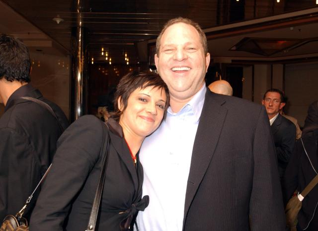 Asia Argento with Weinstein in 2004. She claims she went on to have a consensual relationship with him after he raped her in 1997