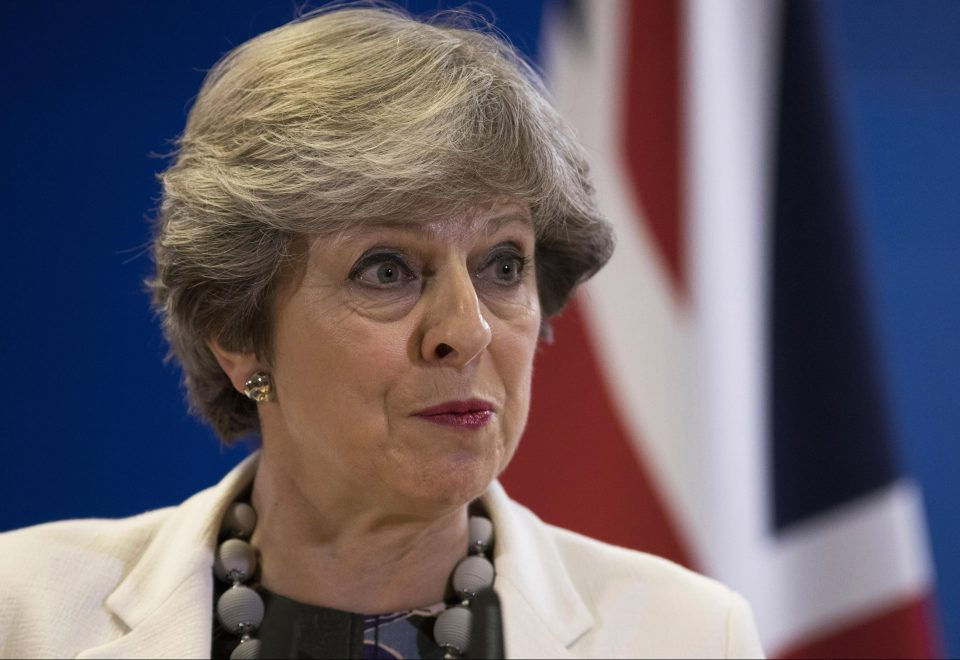 Theresa May wants a two-year transition period after Brexit