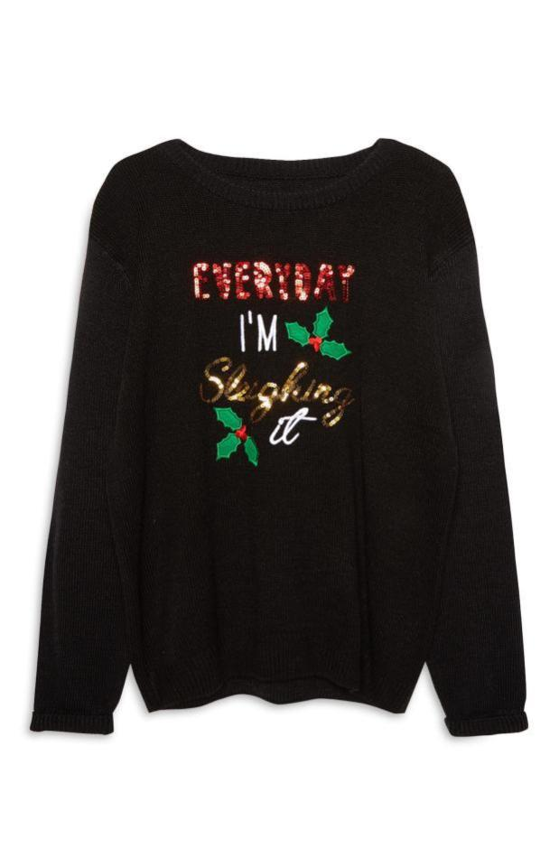 One of Primark's festive jumpers that has been a hit with shoppers