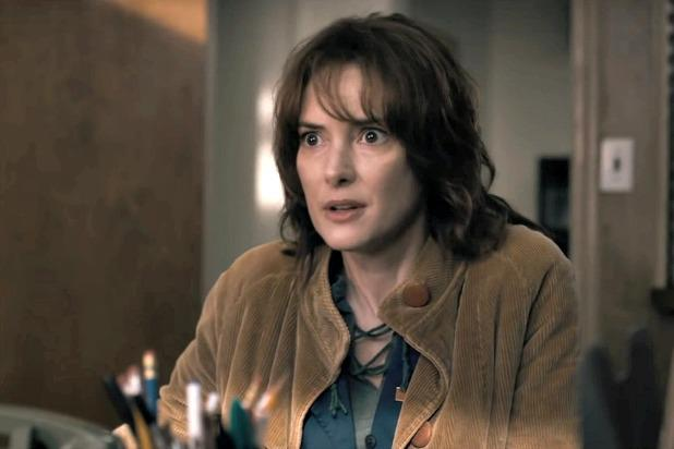 Winona Ryder has won critical acclaim for her role in Stranger Things