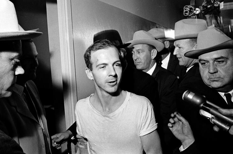 Lee Harvey Oswald denied he was the killer to reporters