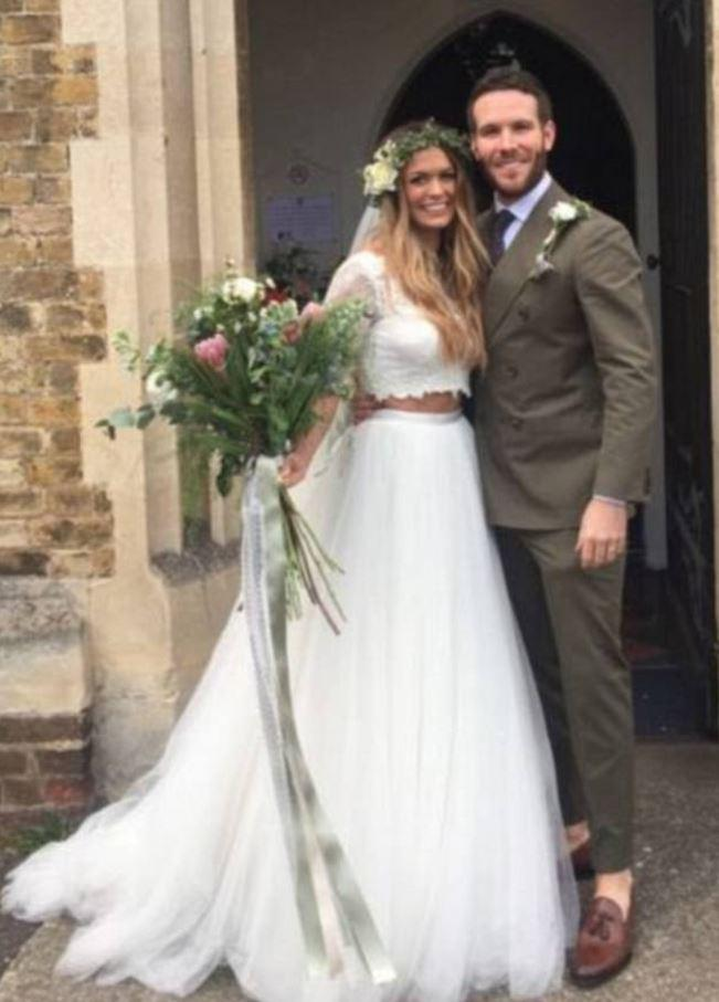 The couple became the fourth to get married from the ITV show