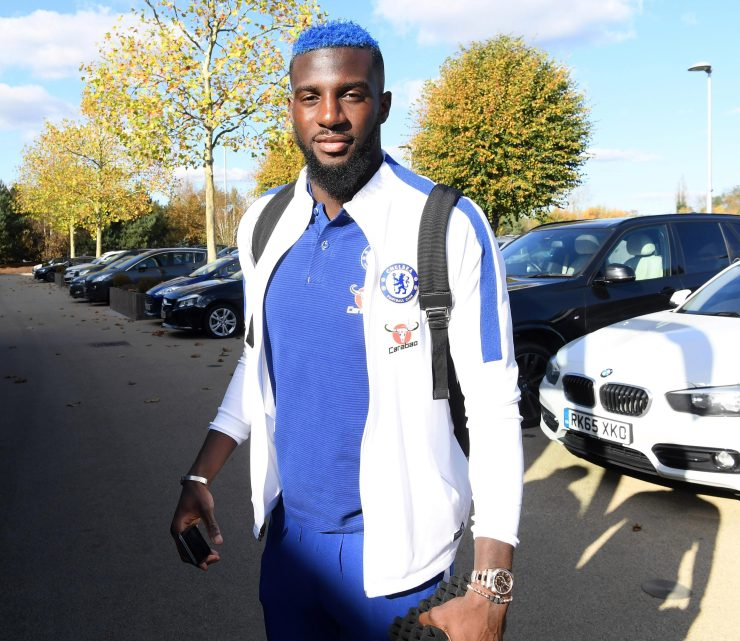 Tiemoue Bakayoko is determined not to feel blue as he prepares to head off to Bournemouth for the Premier League game on Saturday