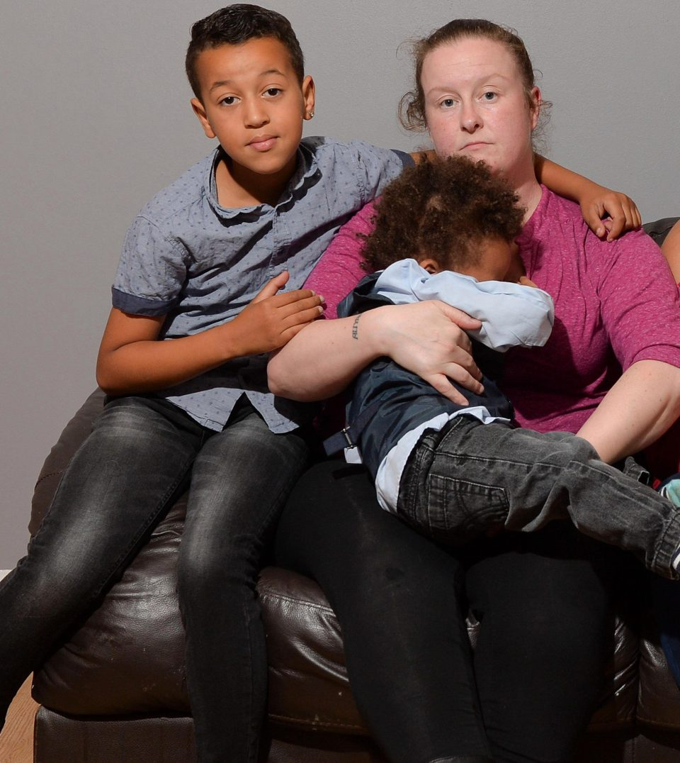 Lynda says her love for her kids kept her going