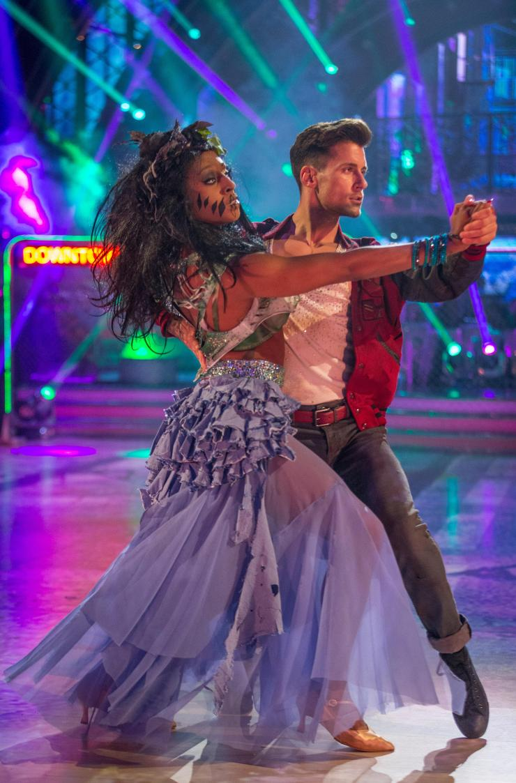 Alexandra has continued competing on Strictly in her mother's honour
