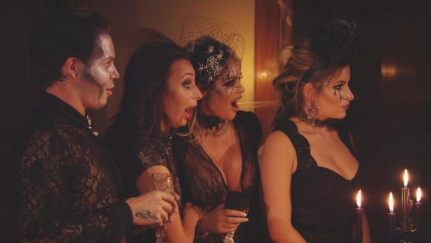 The Towie crew couldn't believe their eyes as Danni was revealed as the host of the party