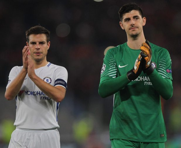 Thibaut Courtois has called on his Chelsea team-mates to rediscover their 'fighting spirit' ahead of Manchester United clash