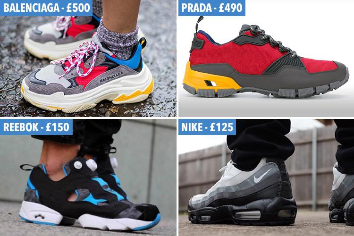 cd16d2704a1 Ugly trainers from the 90s are back in fashion and there are some ...
