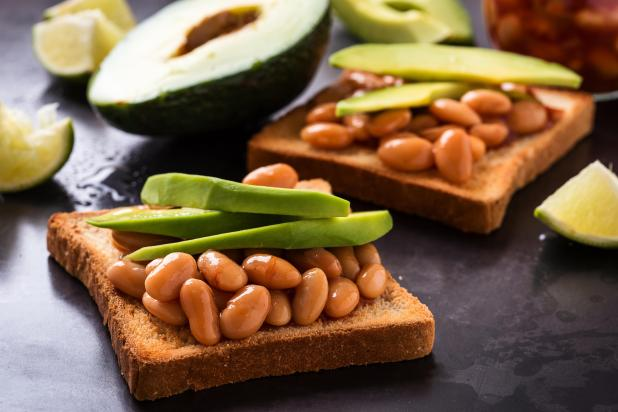 Treat yourself to a bloat-free breakfast like avocado beans that's easy to make