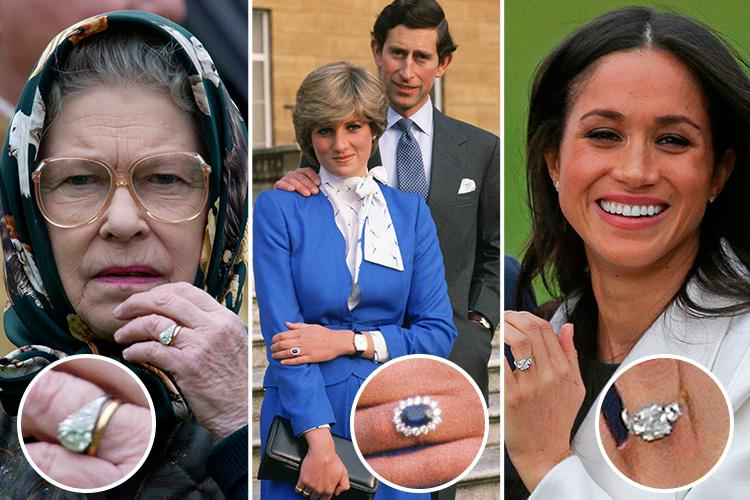 Take a look at the Royals engagement rings through history as
