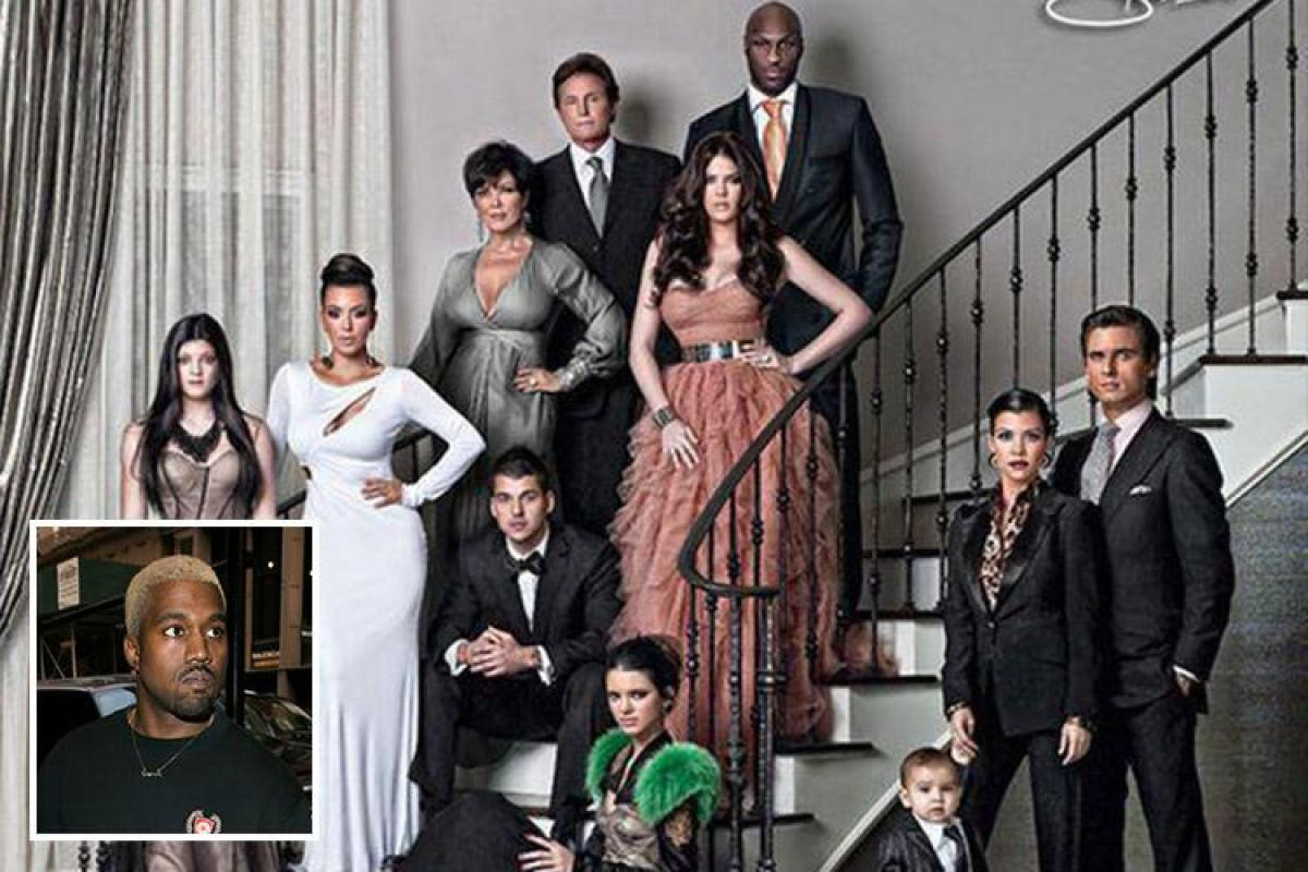 The Kardashian Christmas card is back – but Kanye West is refusing ...