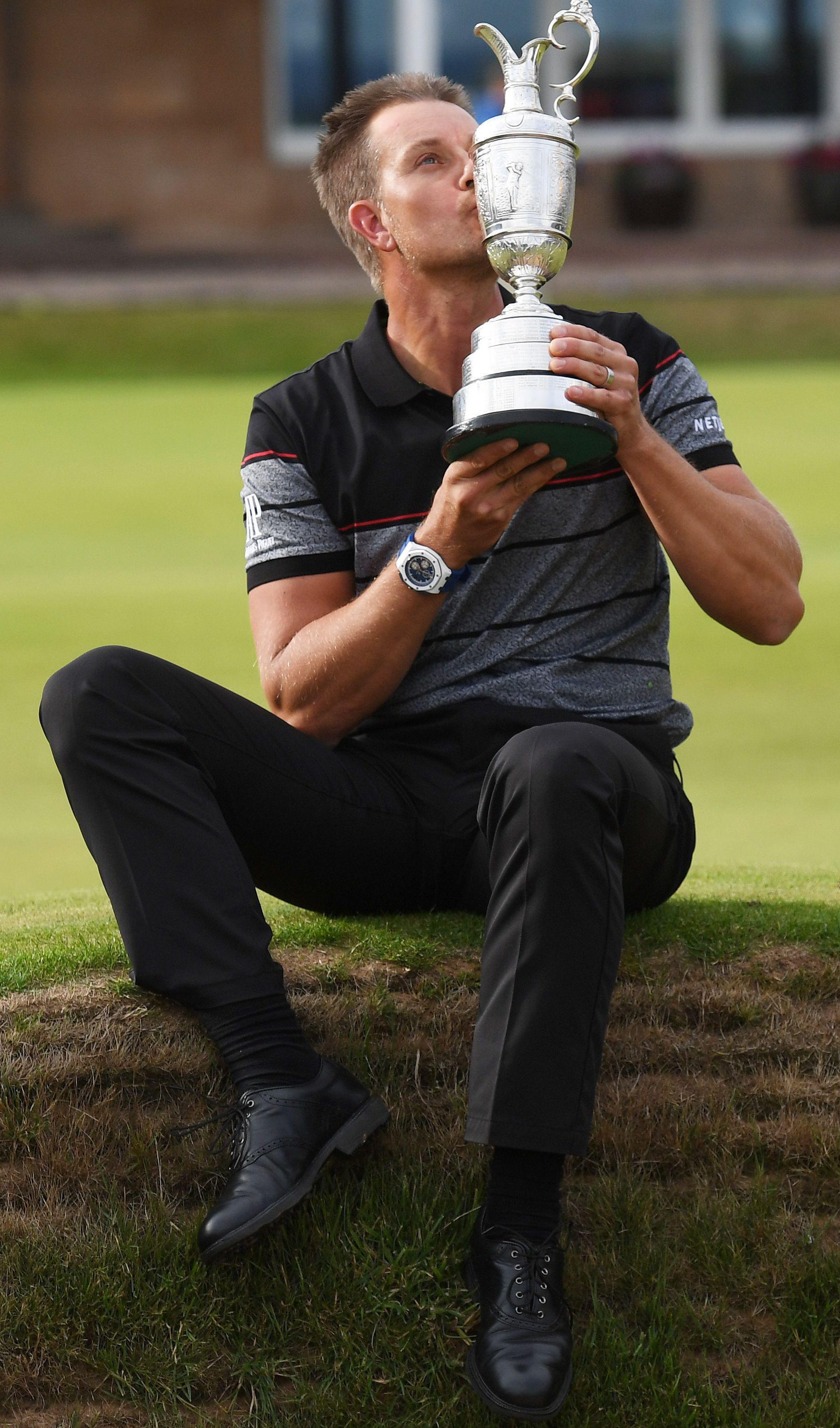 Stenson triumphed at the 2016 Open