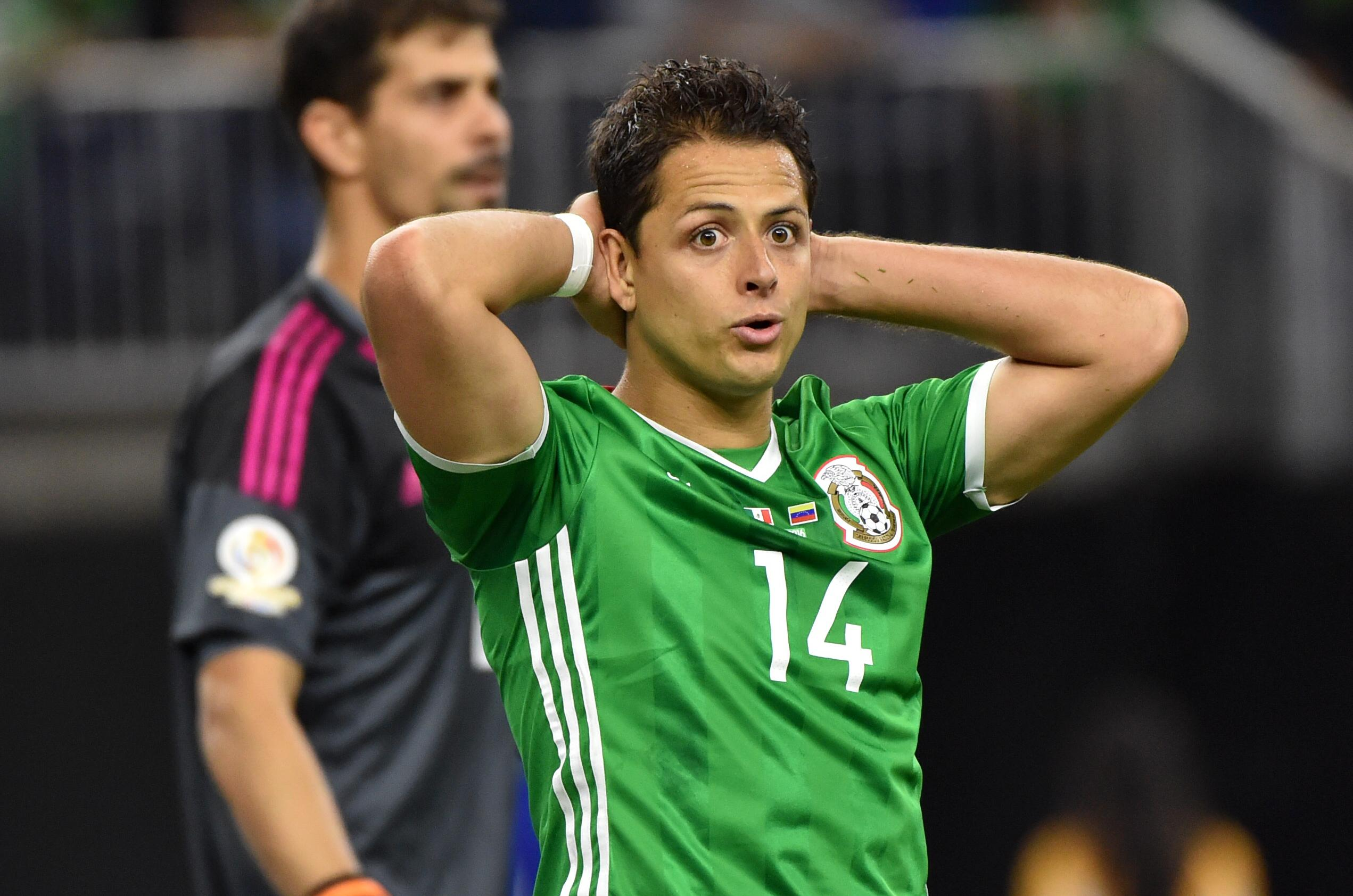 Javier Hernandez will be looking to lead Mexico to World Cup success