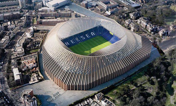 Chelsea's new 60,000-seater stadium could cost £1billion