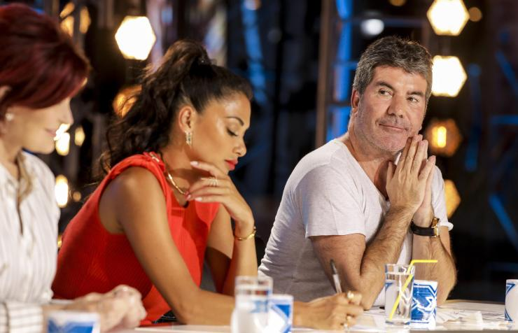 The music mogul made the return to The X Factor last weekend for the first time since the tumble