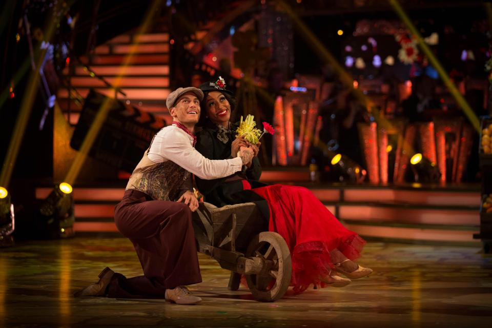 The pair have been wowing viewers with their routines so far this series