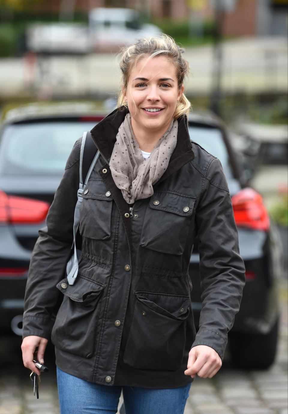 Gemma Atkinson has insisted she is still friends with Alexandra Burke