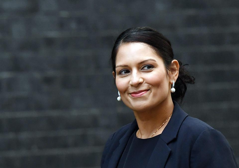 Priti Patel claims her Tel Aviv meetings were about humanitarian issues