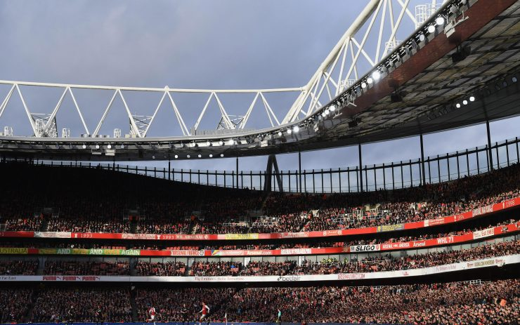 The Emirates will increase its capacity back up to 60,600 as 780 seats are added to the stadium