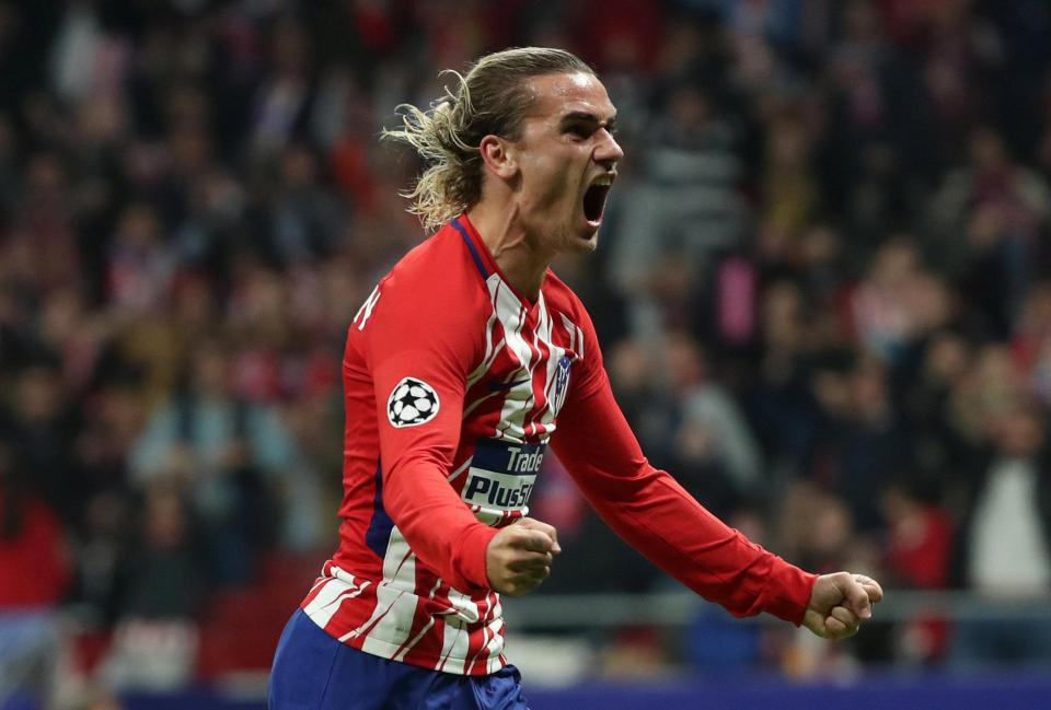 Antoine Griezmann could make a move away from Atletico Madrid