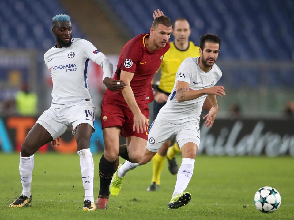 Roma proved far too strong for Chelsea in their Champions League clash on Tuesday night