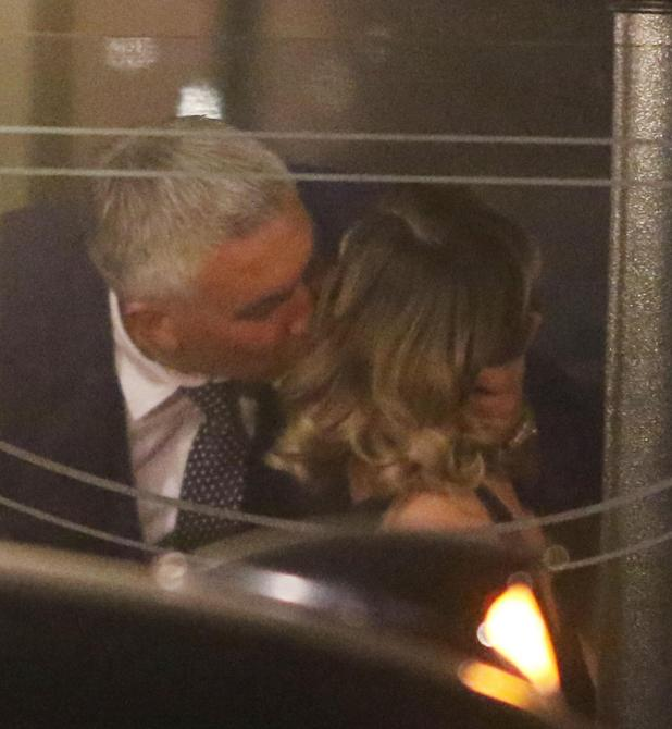Paul Hollywood and Candice Brown were seensharing an intimate kiss after a party