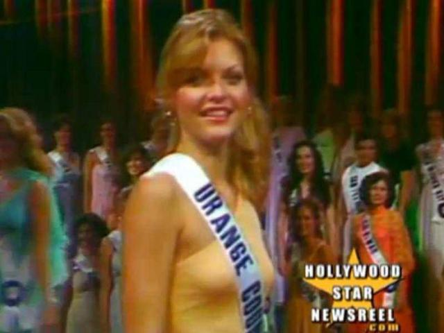 The star was teased in high school, but things changed when she won the Miss Orange County beauty pageant at 20