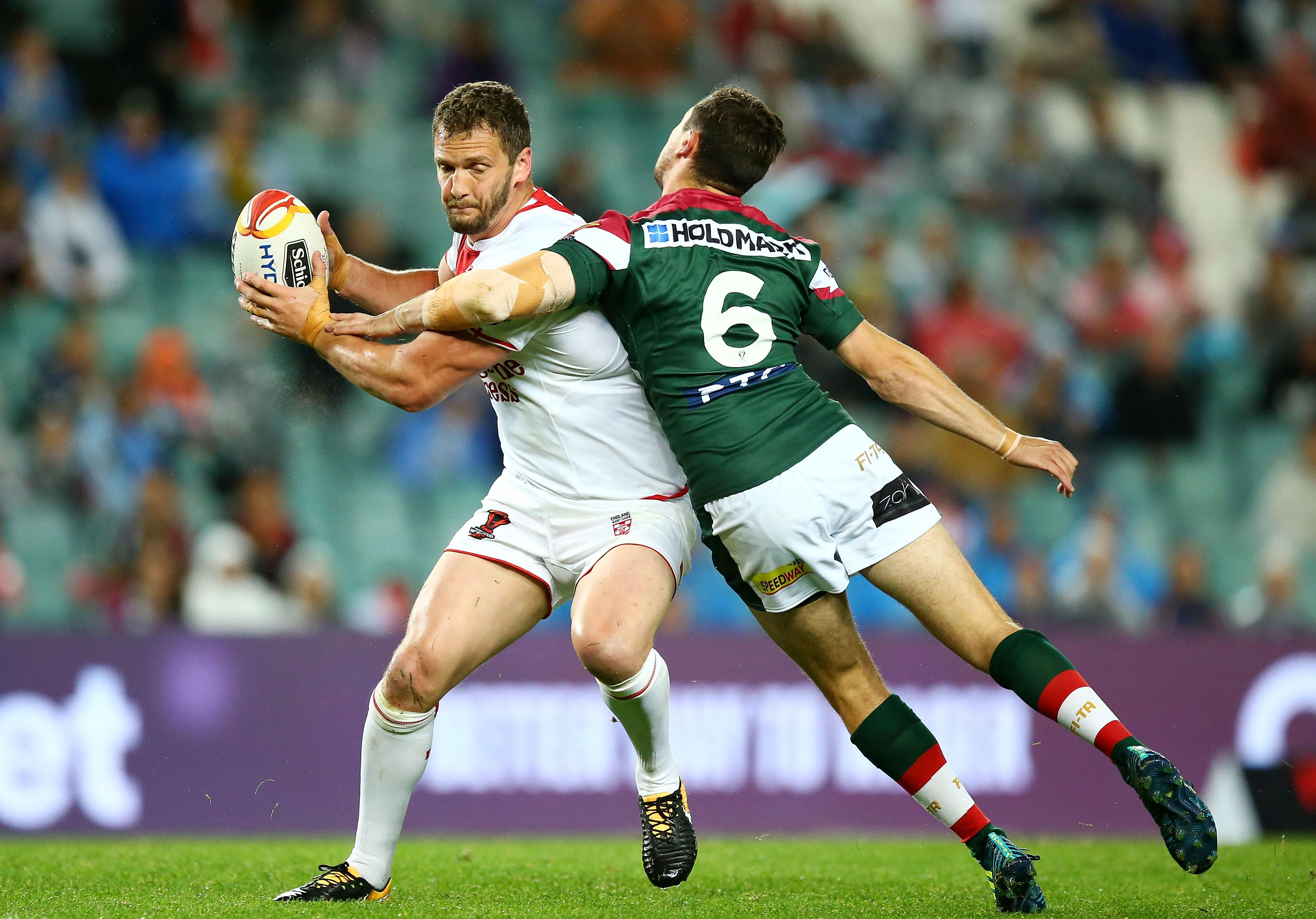O'Loughlin will lead England out at Denver