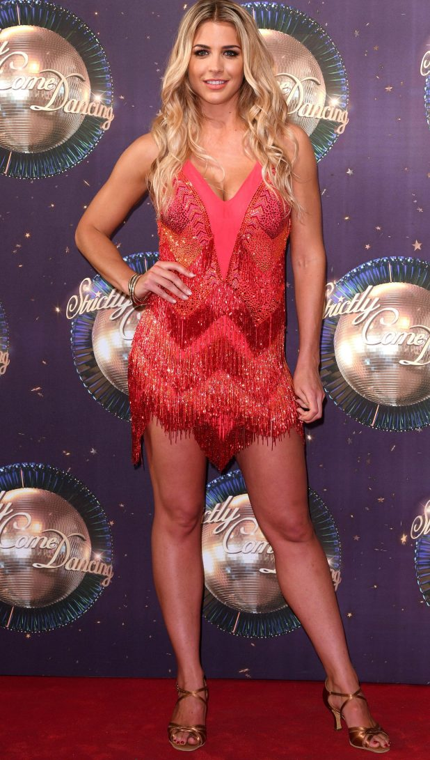 Gemma is a contender on Strictly Come Dancing