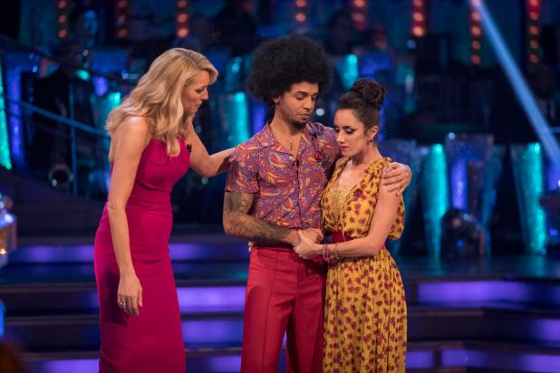 Aston Merrygold was booted from Strictly Come Dancing