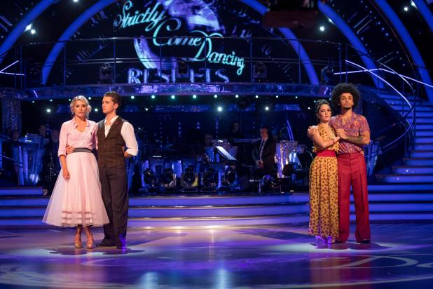 Aston lost against Mollie and AJ in the dance-off on Sunday