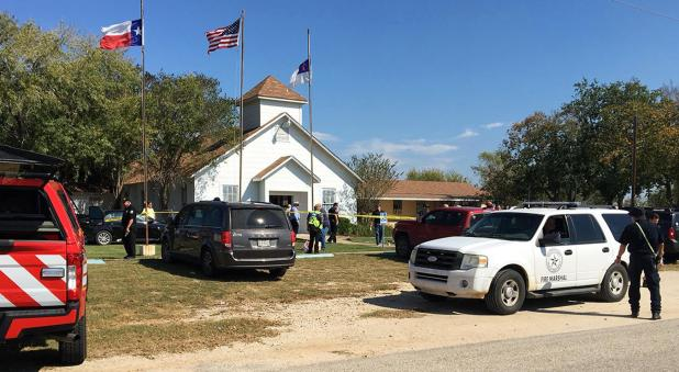 The massacre took place at the First Baptist Church in Sutherland Springs, Texas