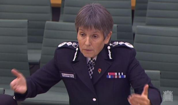 Britain's top cop has refused to say whether or not 'extreme' porn was found on Damian Green's computer