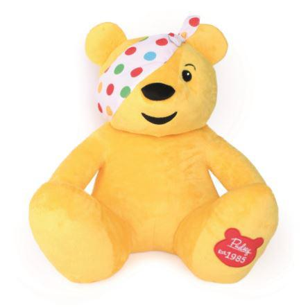 Cuddly toy fans can even get their hands on a GIANT Pudsey toy, pictured, £45