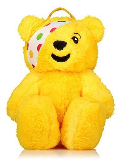 Kids will love this Asda Pudsey backpack