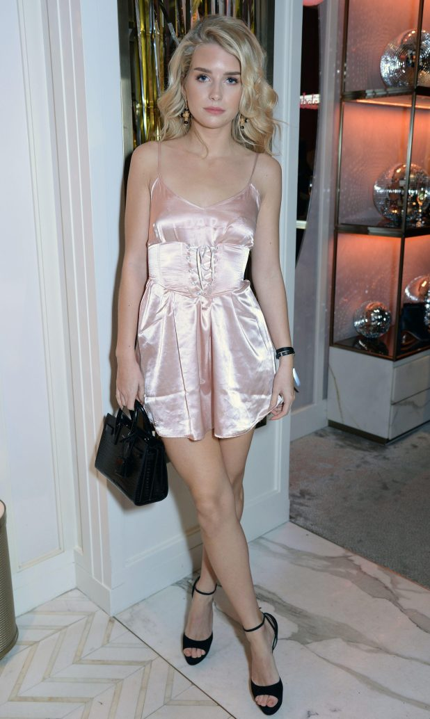 Lottie Moss turned heads in her bedtime-inspired playsuit