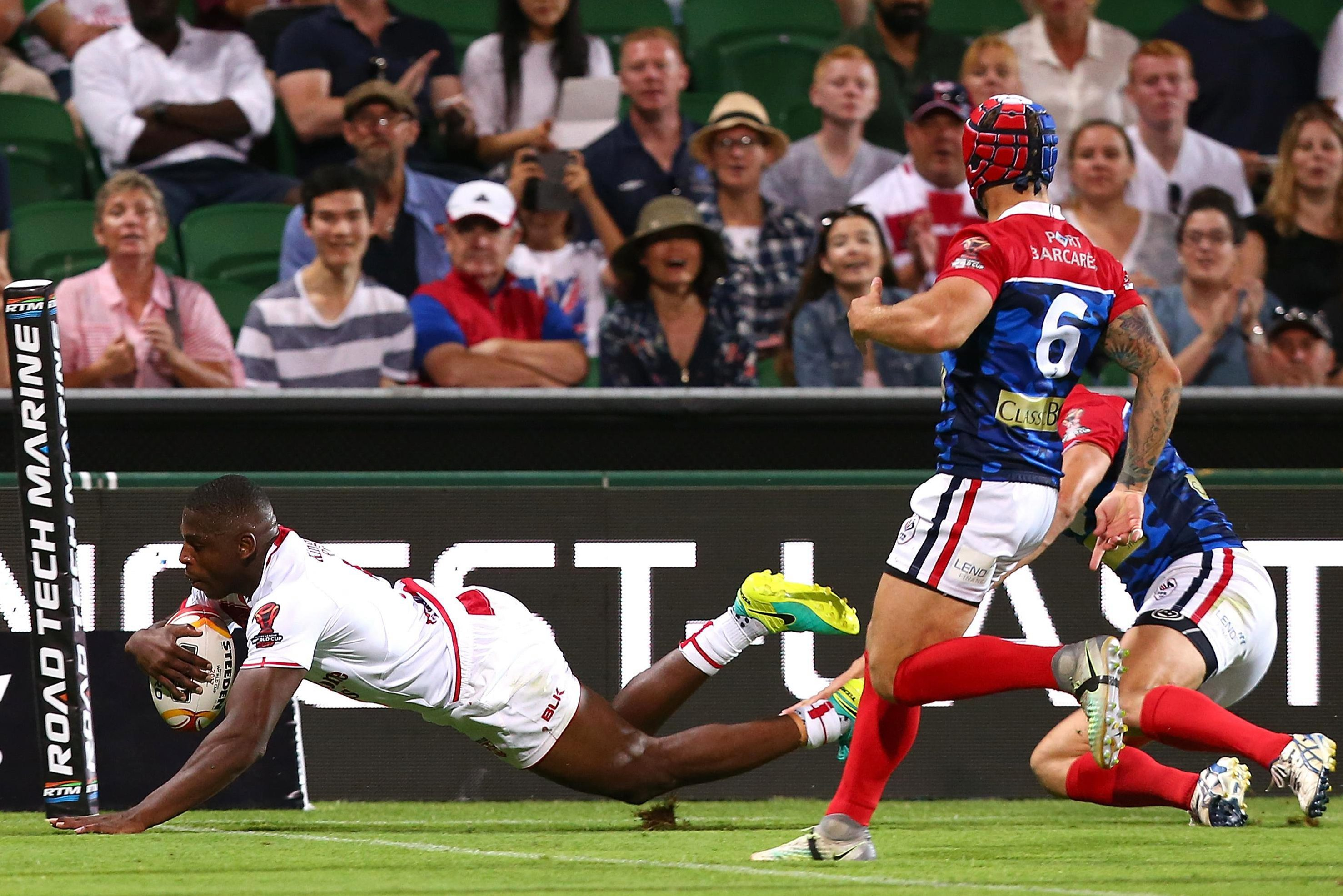 McGillvary was England's star of last year's World Cup
