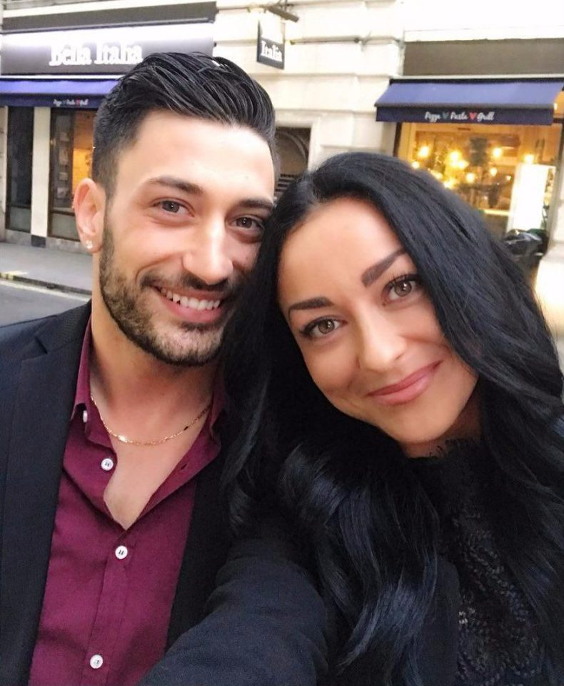 Luba Mushtuk is currently dating Strictly star Giovanni