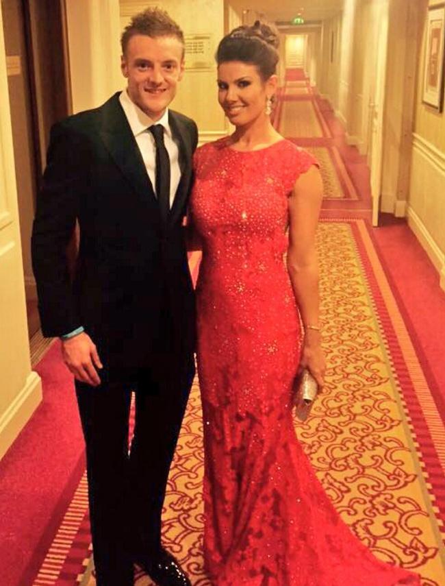 Rebekah is now married to footballer Jamie Vardy