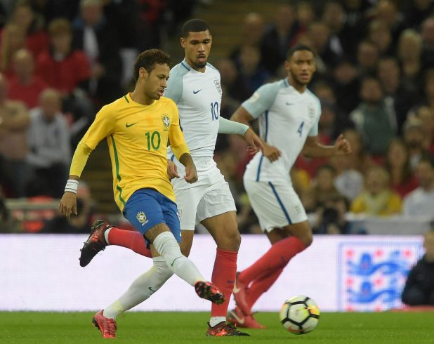 nintchdbpict000366917596 e1510692265905 - England 0 Brazil 0: Three Lions held to another goalless draw as Gareth Southgate's men struggle against Samba stars