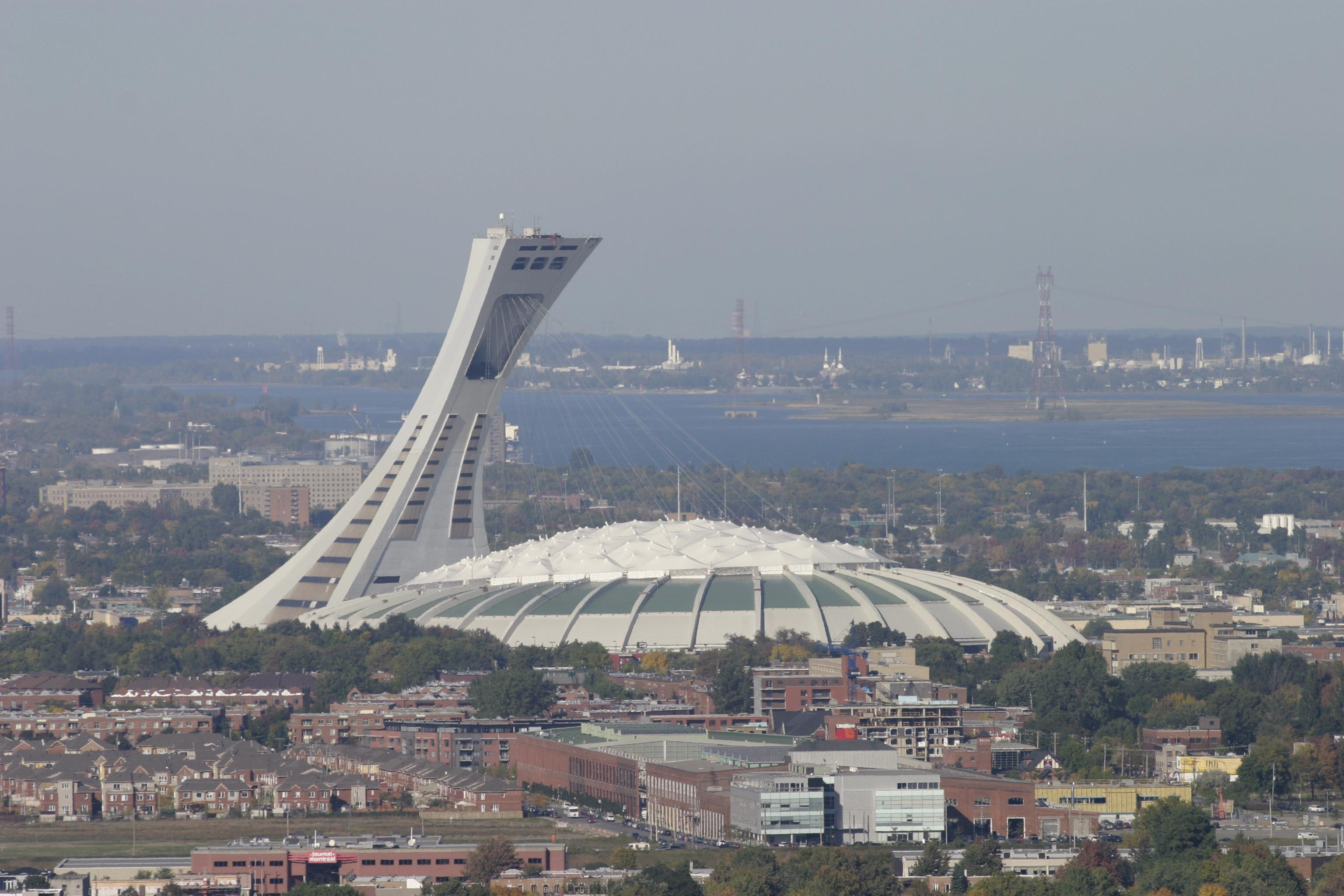 The Montreal Olympic Stadium was opened for the 1976 Games