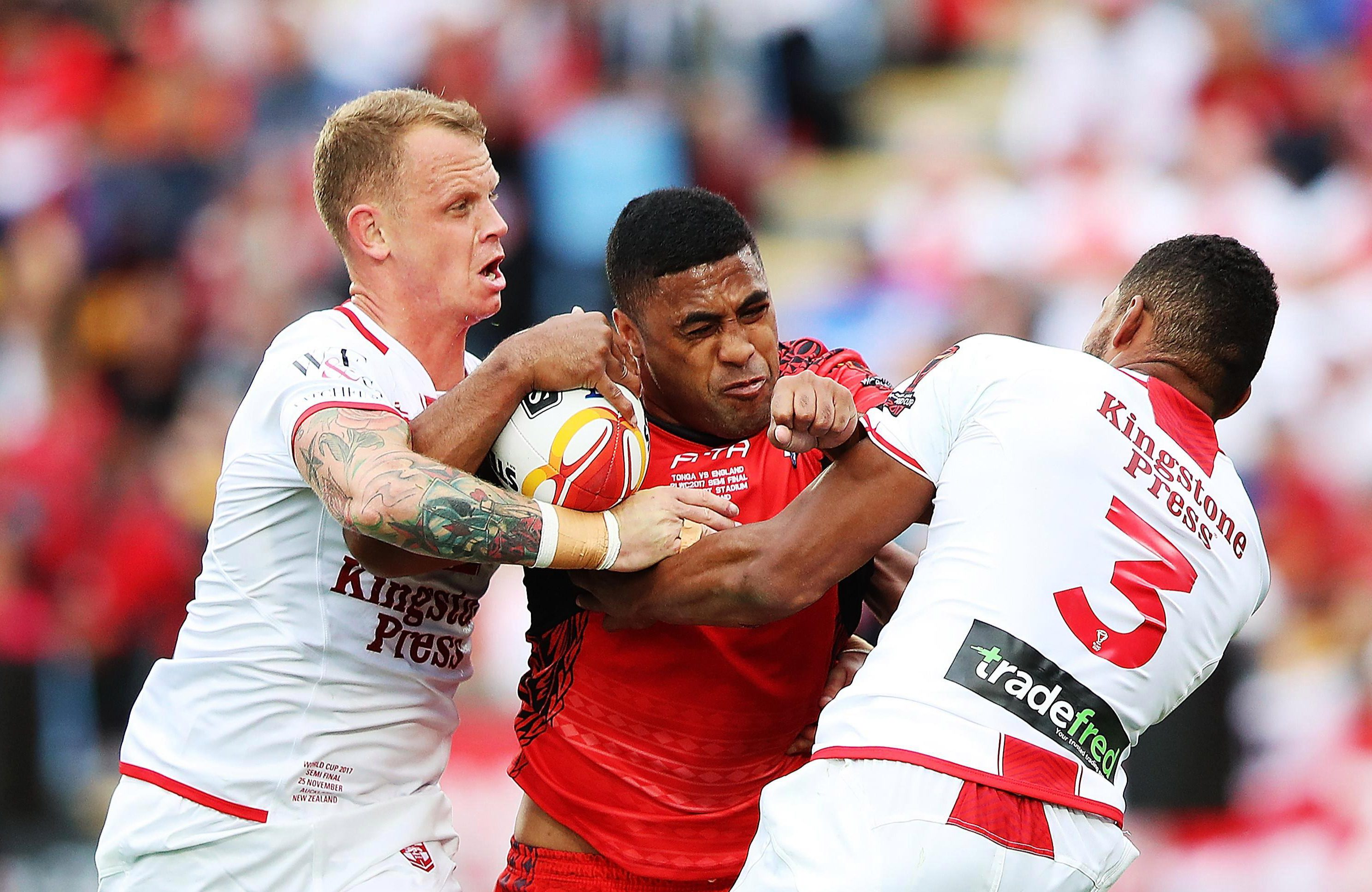 Murdoch-Masila was part of Tonga's side that was knocked out of the Rugby League World Cup by England