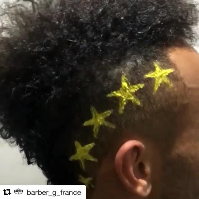 Pierre-Emerick Aubameyang has always been keen to experiment with his hairstyle