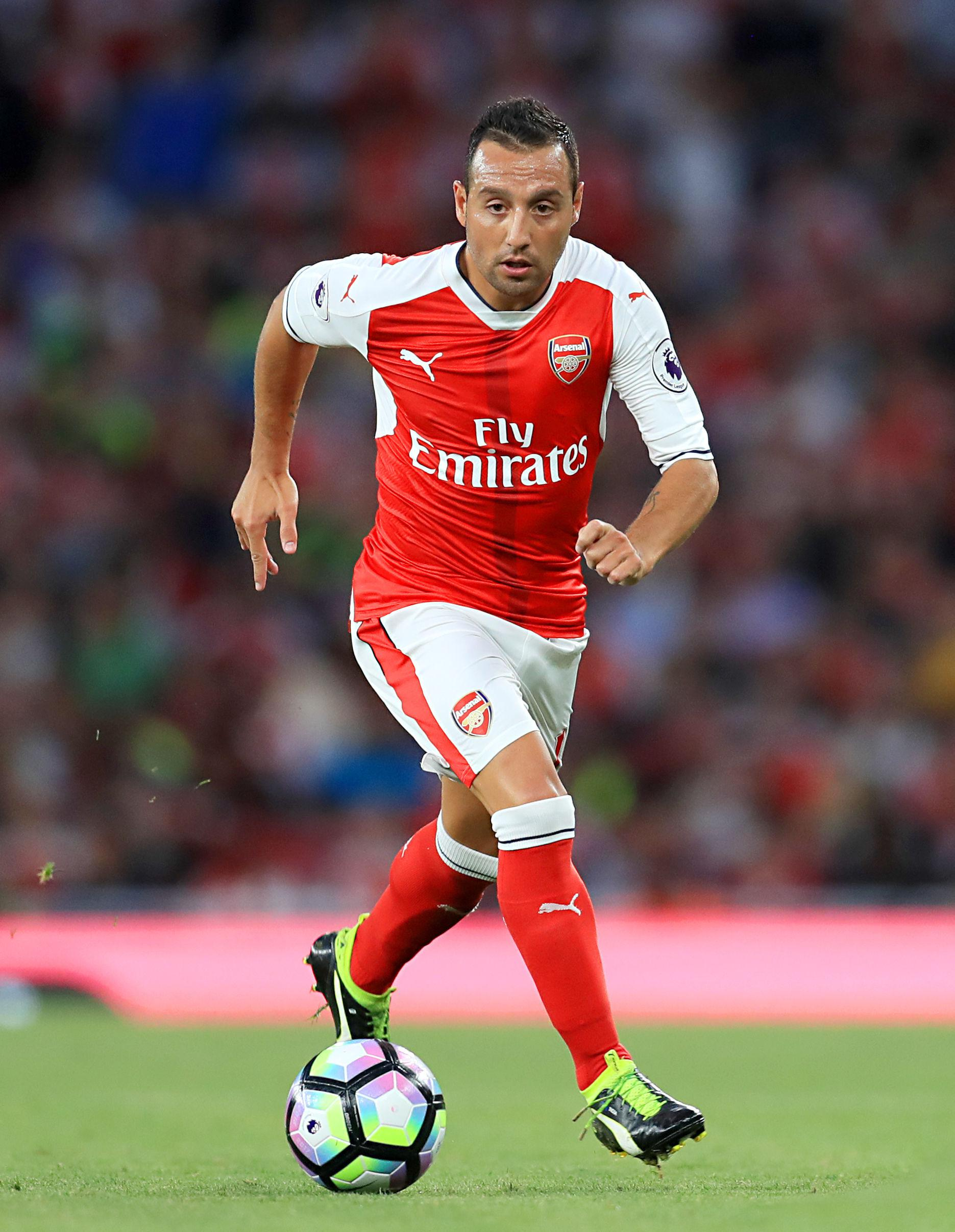 Santi Cazorla has been added to the Europa League squad despite injury horror