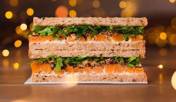 Pret's Veggie Christmas Lunch is a perfect meat-free alternative, although it is rammed with531 calories