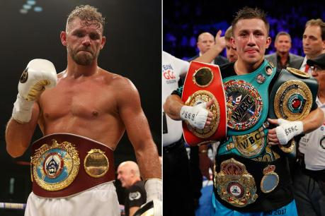 Image result for ggg billy joe saunders