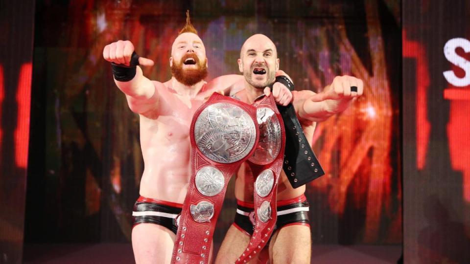 WWE Superstars The Bar