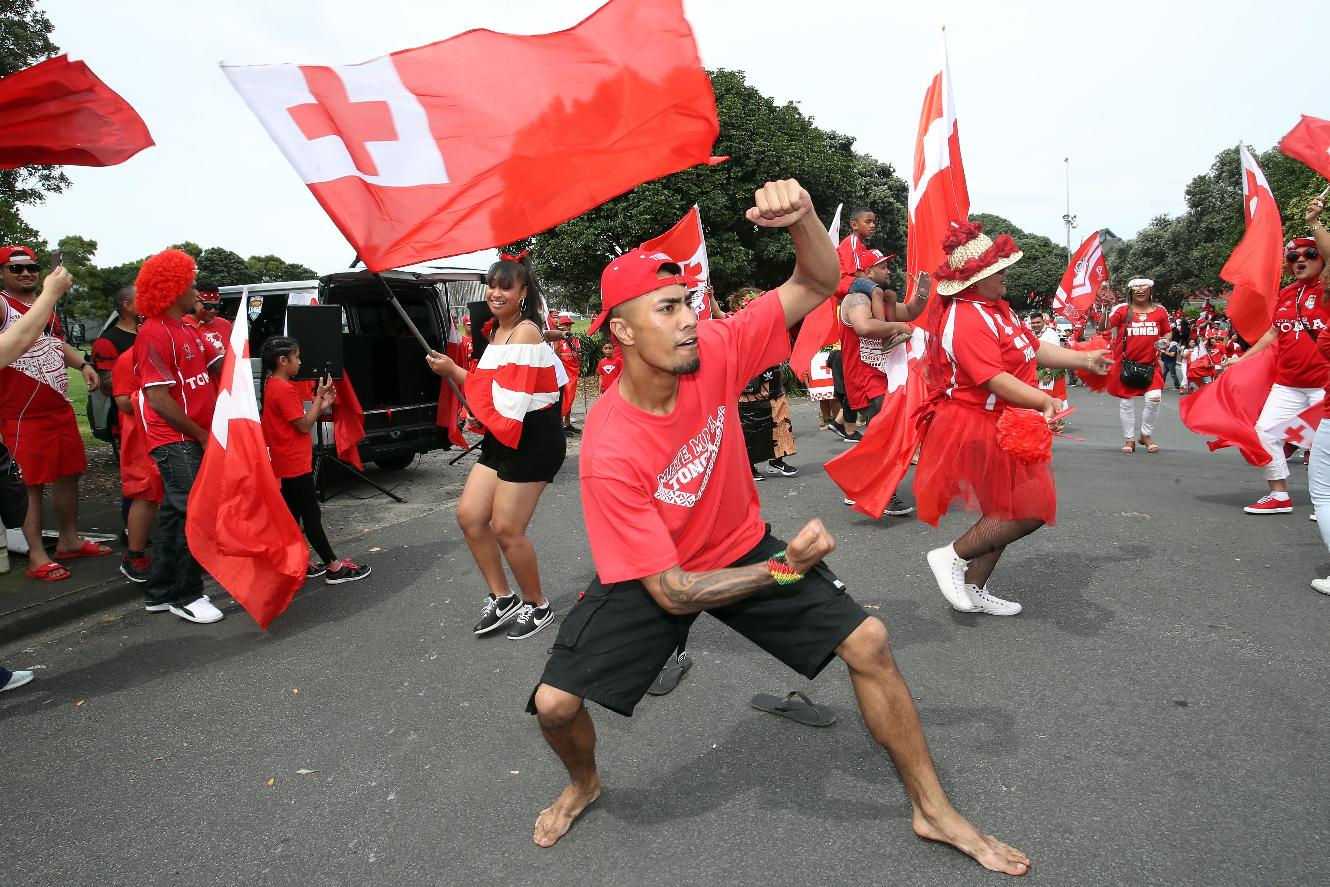 Murdoch-Masila was part of Tonga's squad that lost the World Cup semi-final to England