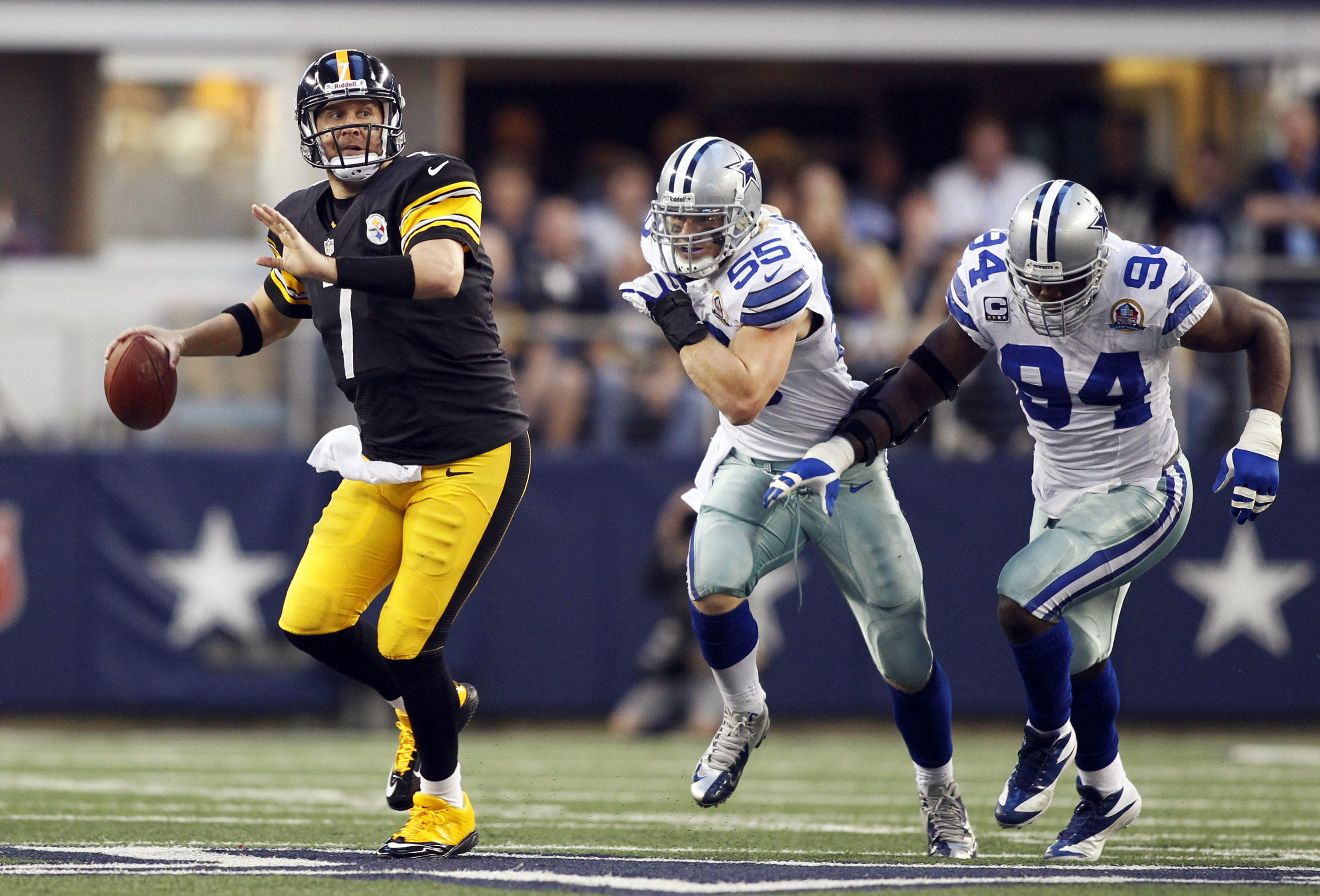Ben Roethlisberger was one of nine players from the Pittsburgh Steelers selected - a high for this season